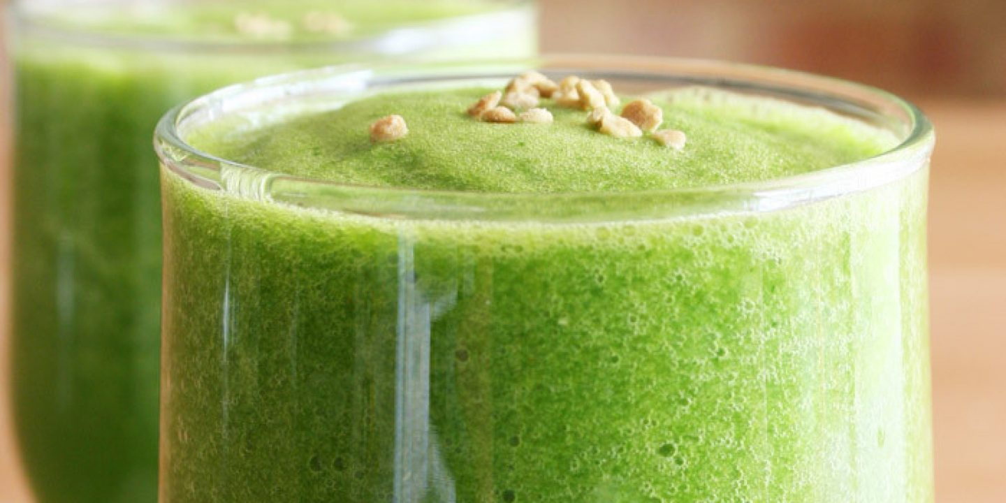 The Perfect Green Smoothie Formula