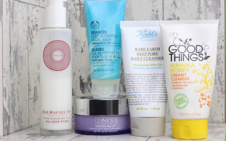 Top 5 Facial Cleansers